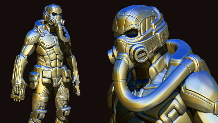 Udemy – Hard Surface Character Creation in Zbrush by Victory3D free download