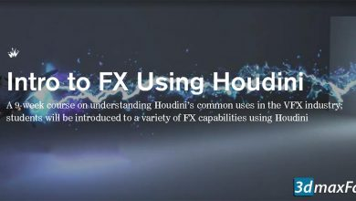 CGMaster Academy – Intro to FX Using Houdini free download