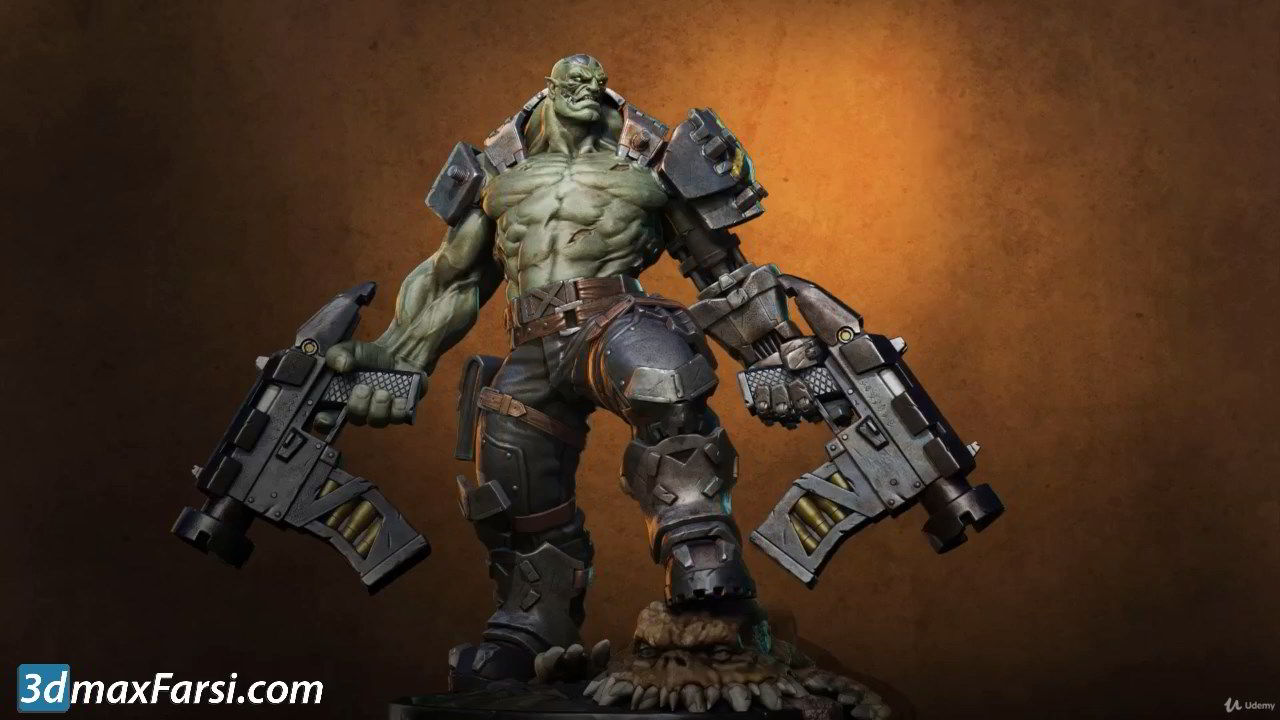 Udemy – Orc Cyborg Character Creation in Zbrush free download