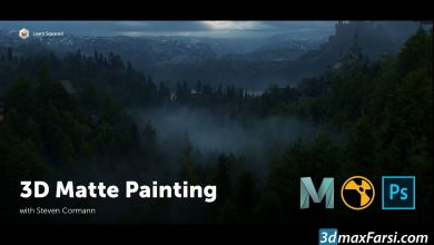 Learn Squared – 3D Matte Painting with Steven Cormann