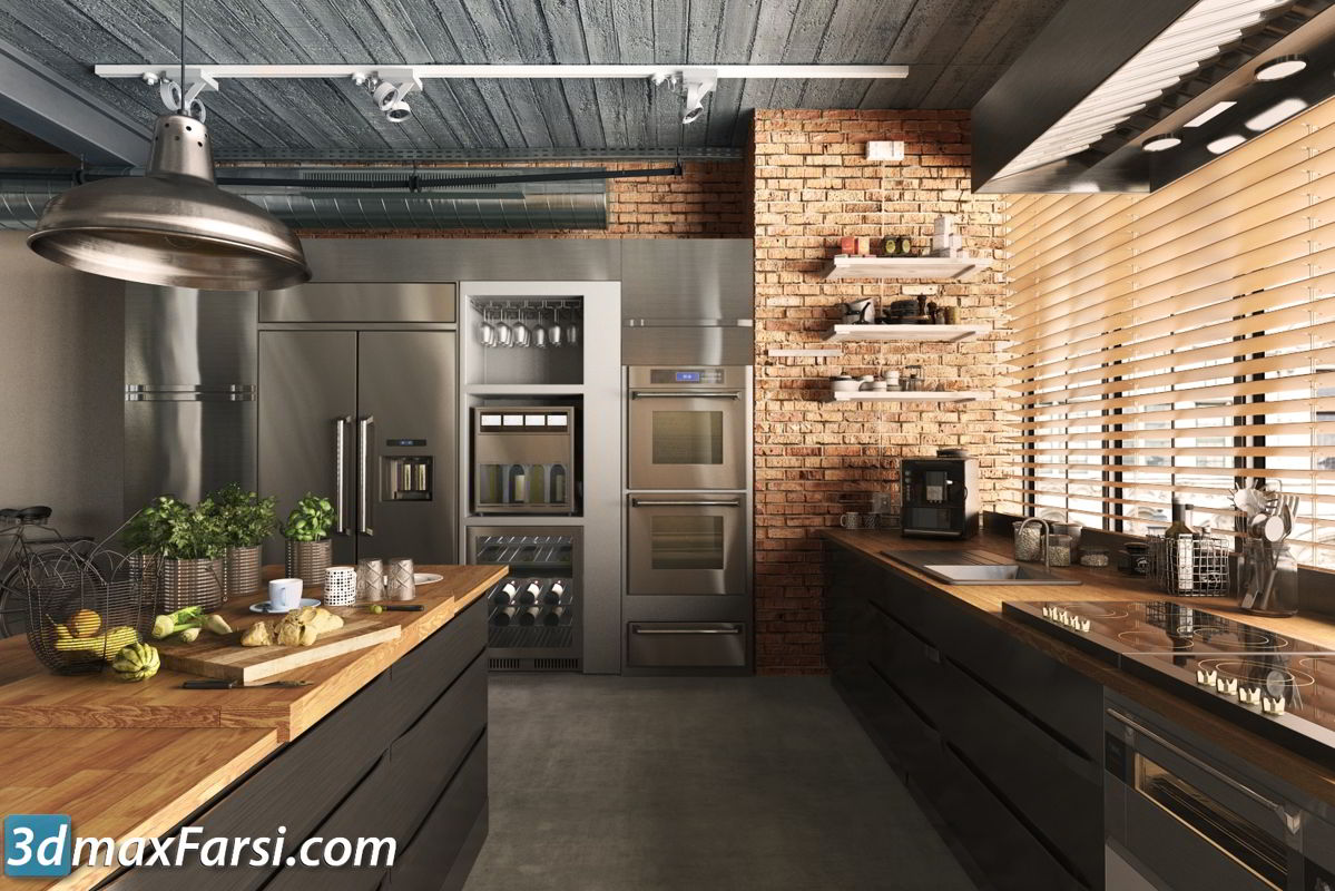 Evermotion – Archmodels Vol 180 free download modern and vintage kitchen appliances