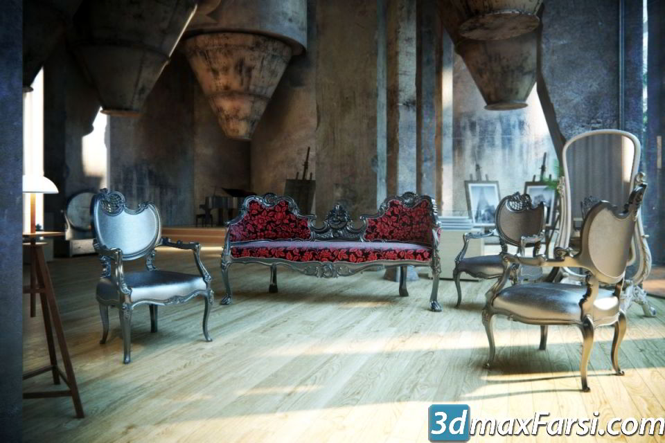 Evermotion Archmodel Vol 122 classic furniture free download