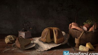 Evermotion - Archmodels Vol 151 Food free download