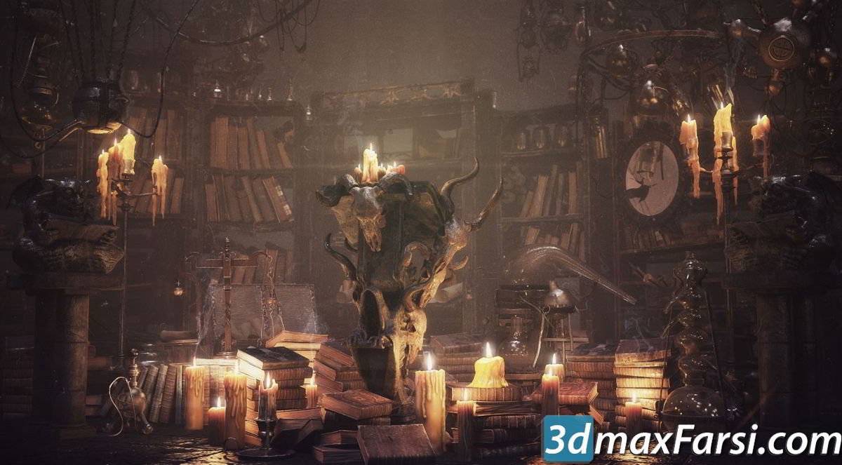 Evermotion - Archmodels Vol 153 free download fantasy models
