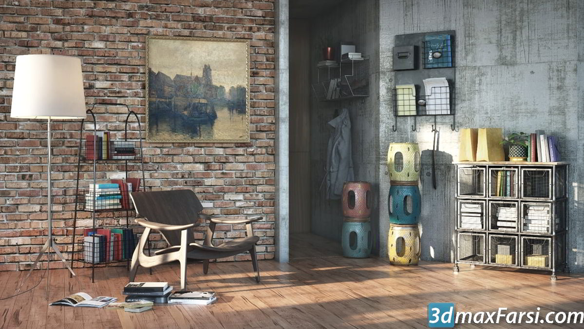 Evermotion – Archmodels Vol 205 vray only free download 3d furniture and home props