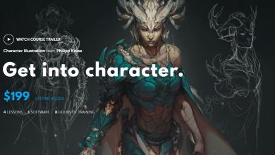 Learn Squared – Character Illustration from Philipp Kruse free download