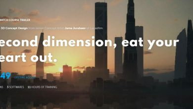 Learn Squared – Intro to 3D Concept Design with Jama Jurabaev free download