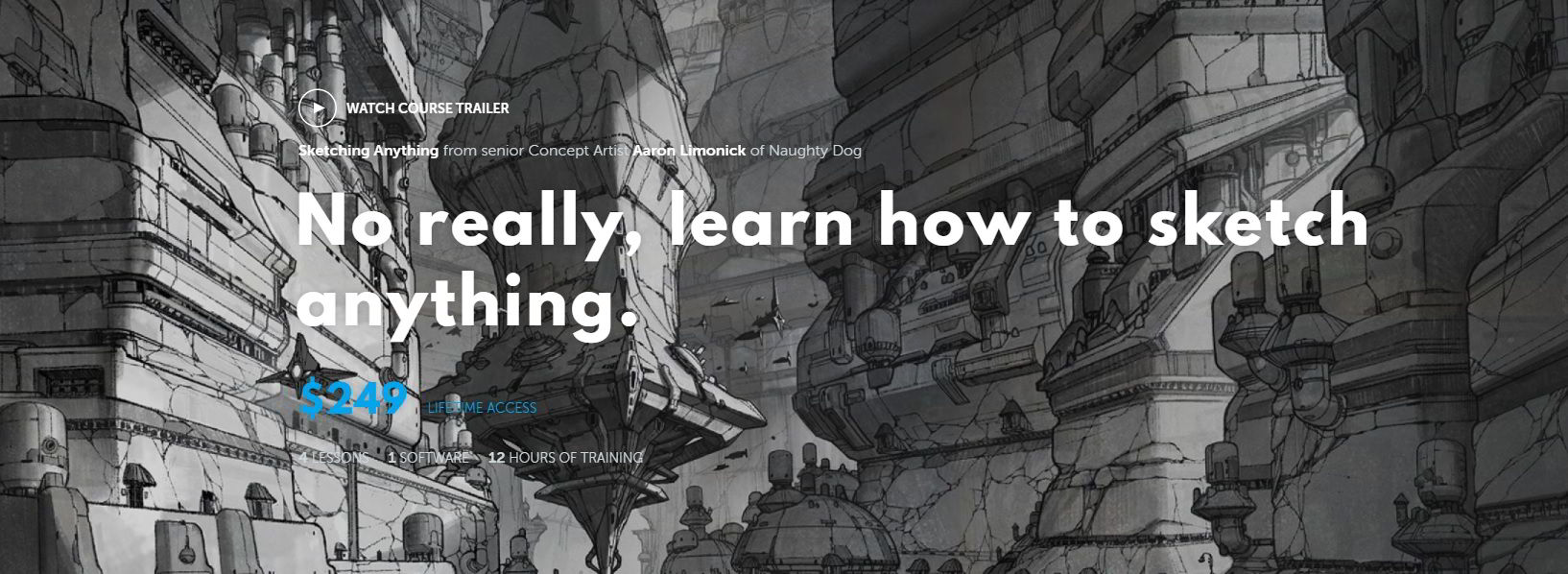 Learn Squared – Sketching Anything with Aaron Limonick