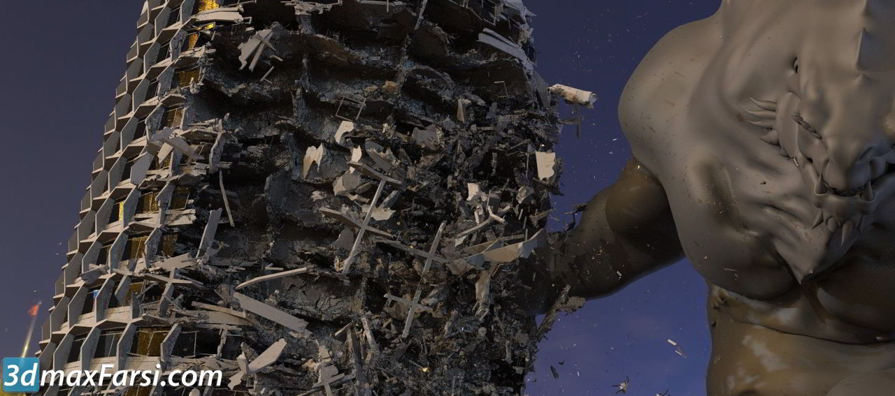 CG Master Academy – Mastering Destruction in Houdini free download