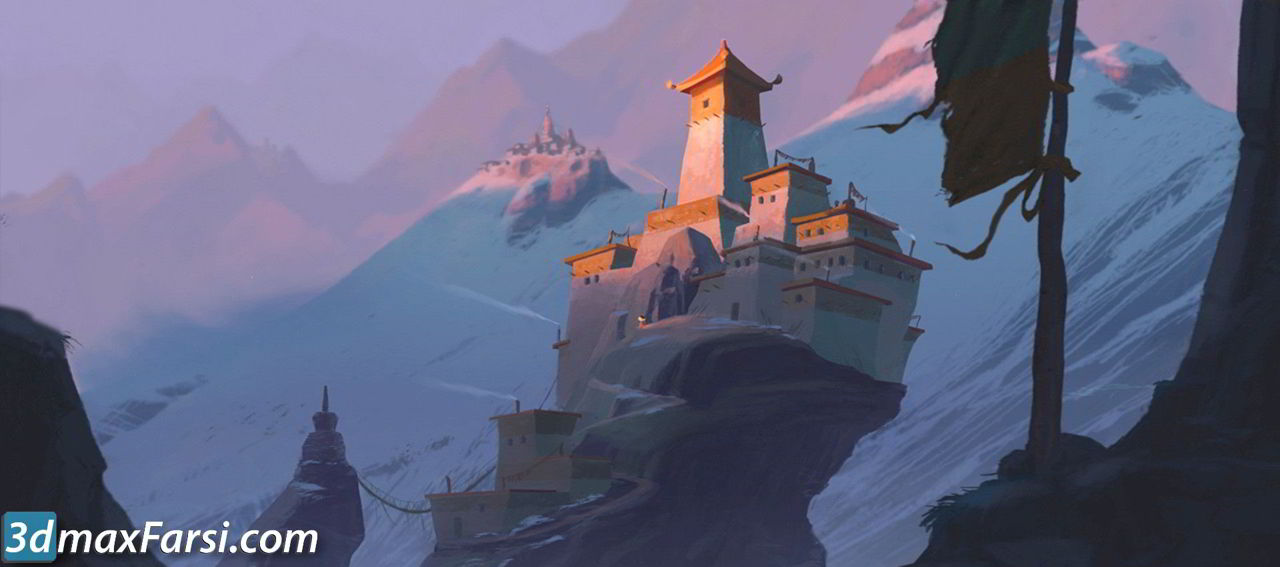 CG Master Academy – Digital Painting with David Merritt free download