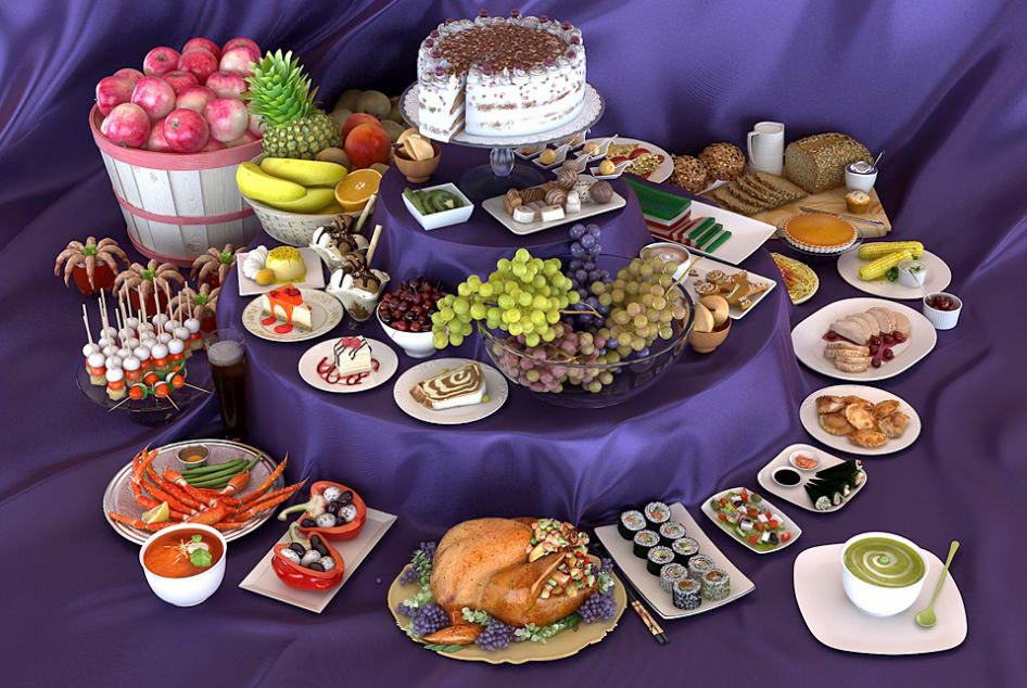 Evermotion – Archmodels vol. 076 : 3d food free download