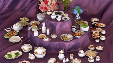 Evermotion – Archmodels vol. 108 : food and porcelain service sets free download