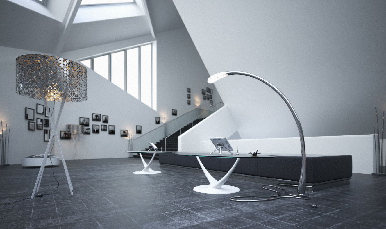 Evermotion – Archmodels Vol. 138 : lamps and coffee tables free download