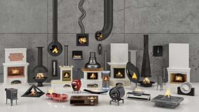 Evermotion – Archmodels vol. 97 : fireplaces free download