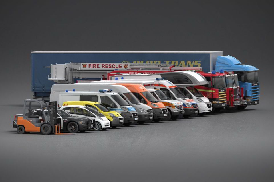 Evermotion – Archmodels vol. 98 : 3d vehicles free download