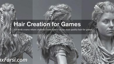 CGMaster Academy – Hair Creation for Games with Johan Lithvall free download