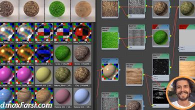 Skillshare – Vray Materials with 3ds Max + Vray : The Quickest Way free download