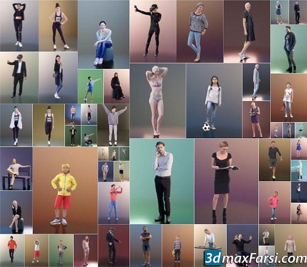 3D PEOPLE – Mega Collection for Cinema 4D free download