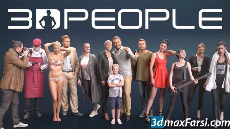 3D PEOPLE – Ready Posed Mega Collection free download