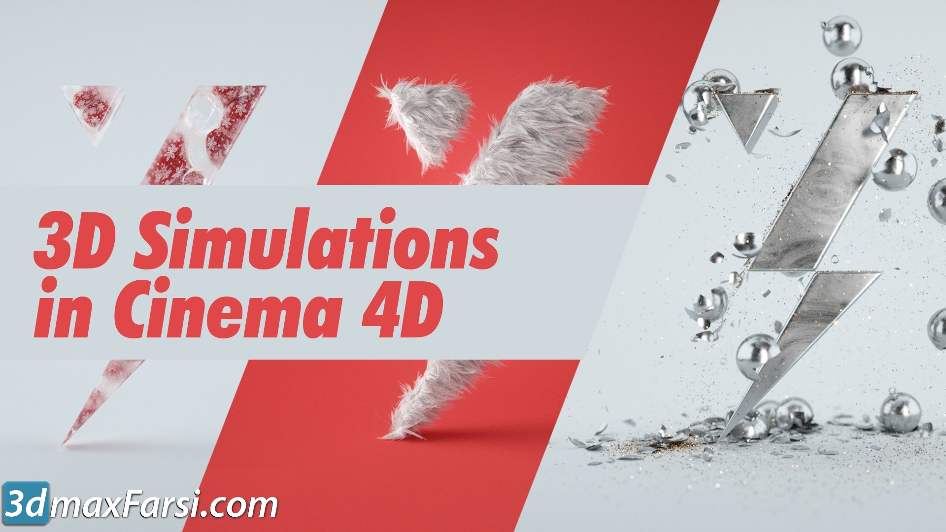 Motion Design School – 3D Simulations in Cinema 4D free download