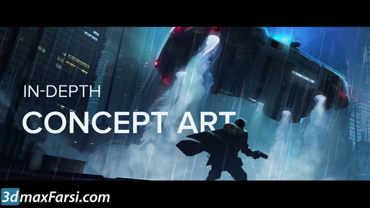 Motion Design School – In-Depth Concept Art free download