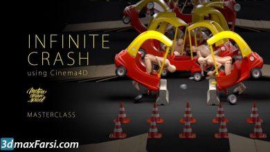 Motion Design School – Infinite Crash using Cinema 4D free download