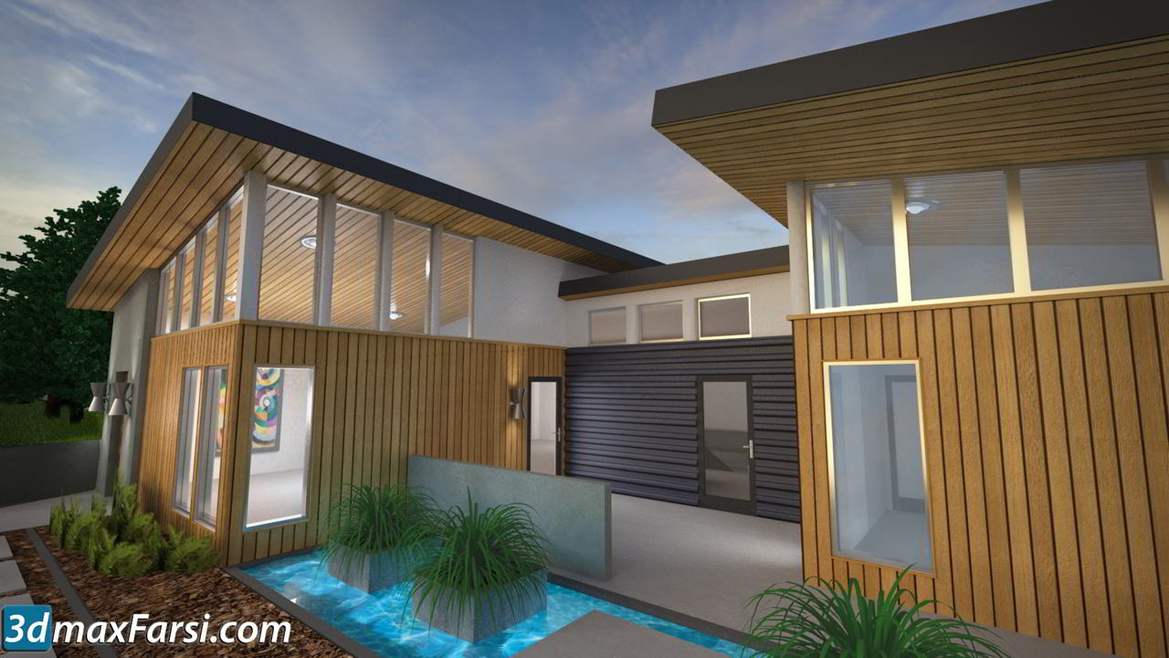 Lynda - 3ds Max and V-Ray: Residential Exterior Materials free download