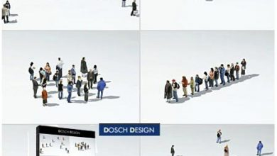 DOSCH 3D: Lo-Poly People free download