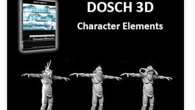 DOSCH Design 3D Character Elements free download