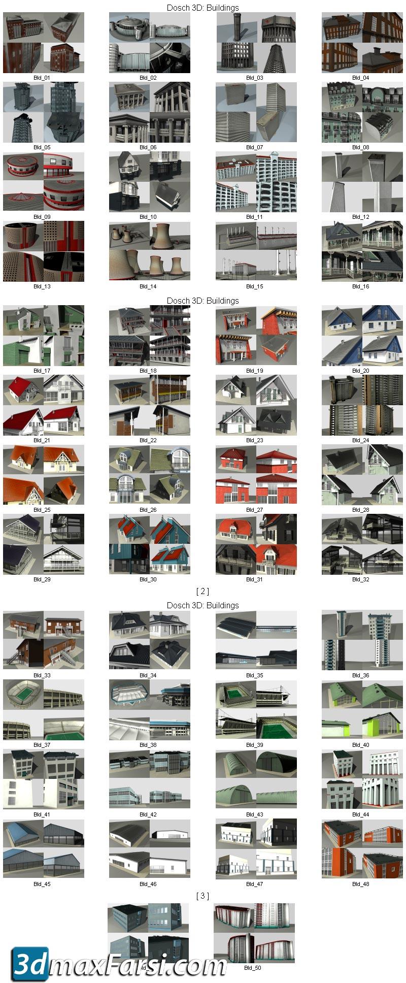 Dosch_3D Buildings 3DS download