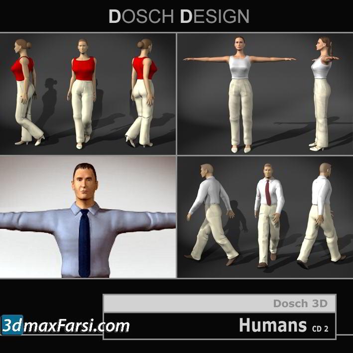 Dosch 3D Humans free download