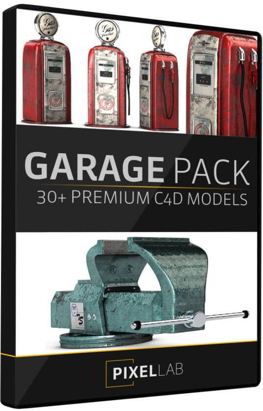 The Pixel Lab – Introducing the 3D Garage Pack free download