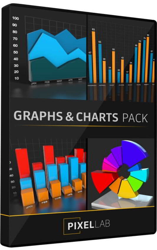 The Pixel Lab – Infographics: Graphs and Charts Pack free download