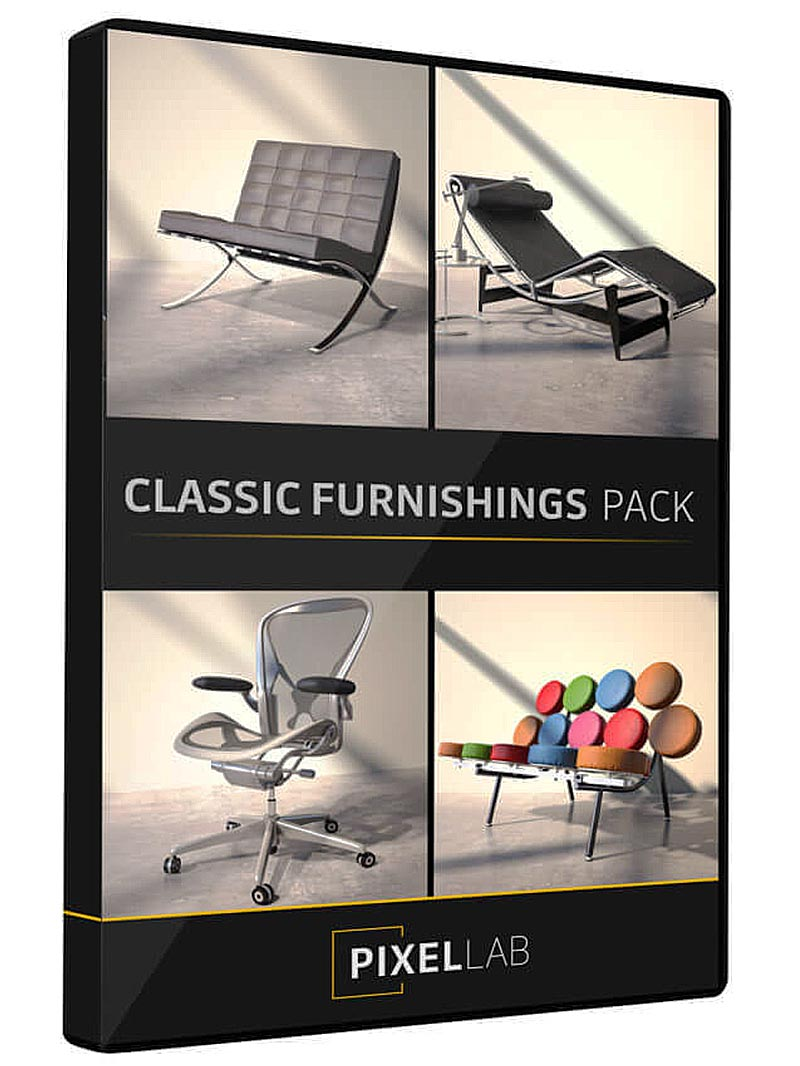 The Pixel Lab – Classic Furnishings Pack free download