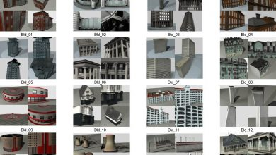 Dosch_3D Buildings 3DS free download