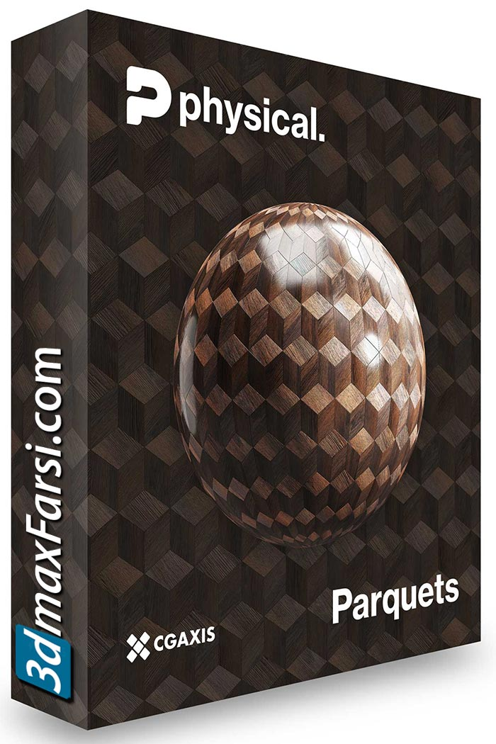 CGAxis – 8K PBR Textures Collection Volume 20 – Wood Parquet free download
