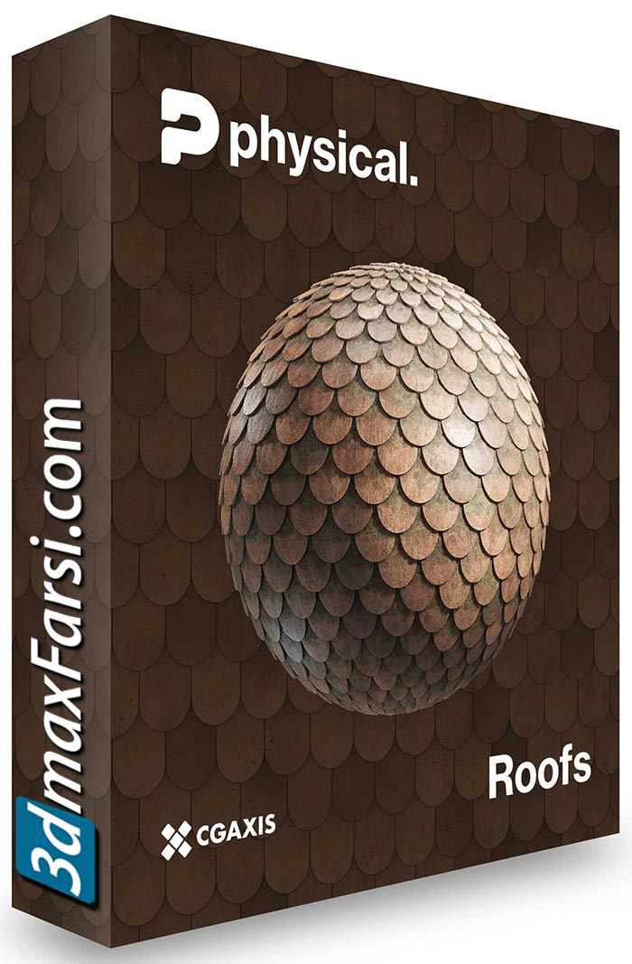 CGAxis – 8K PBR Textures Collection Volume 22 – Roofs free download