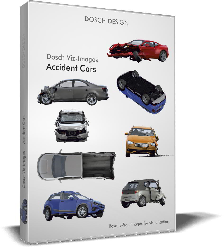 Dosch Viz-Images: Accident Cars free download
