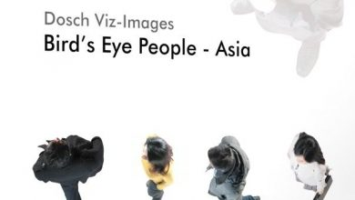 Dosch Viz-Images: Bird's Eye People - Asia