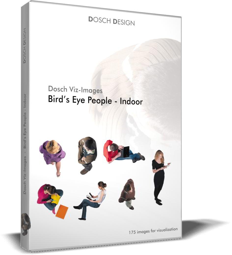 Dosch Viz-Images: Bird's Eye People - Indoor free download