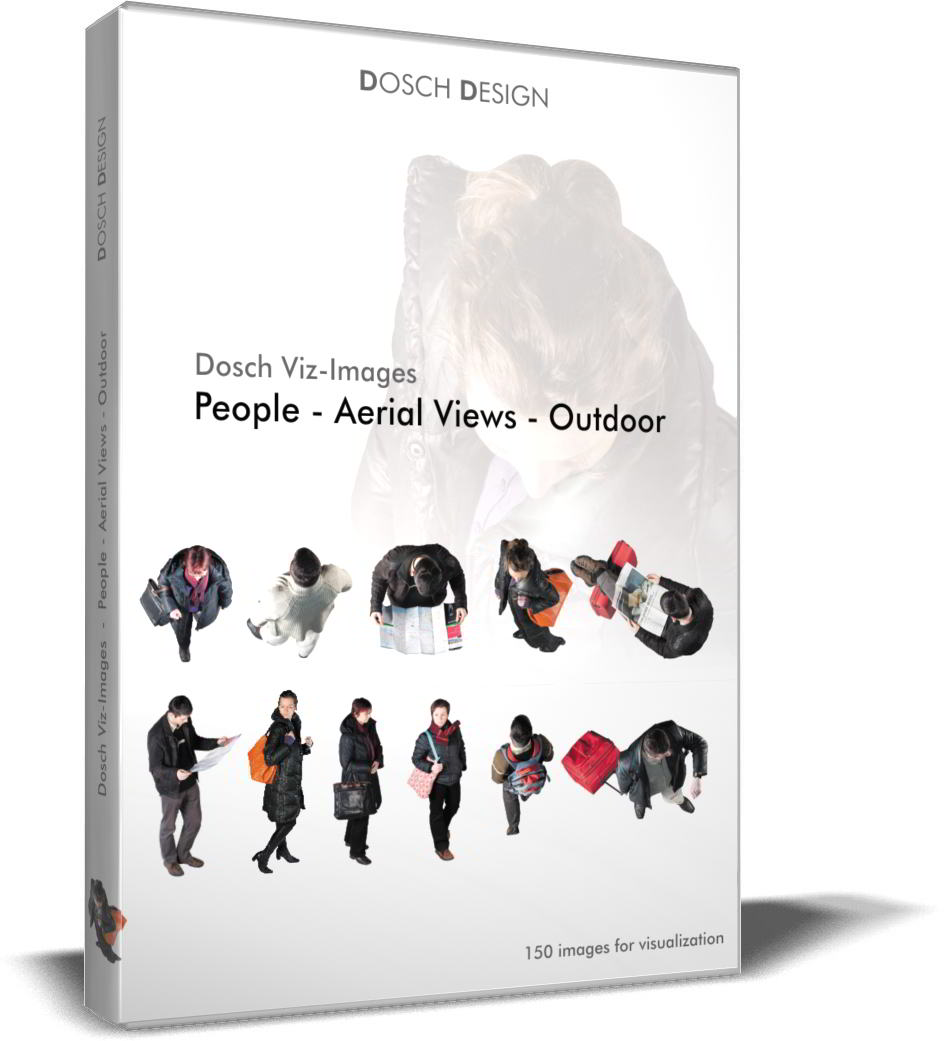 Dosch Viz-Images: People - Aerial Views - Outdoor free download