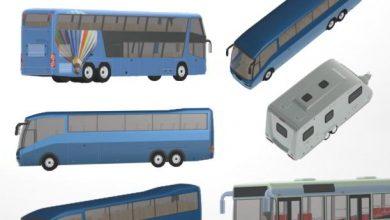 Dosch Viz-Images: Busses, Campers & RVs