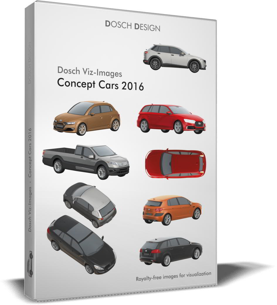 Dosch Viz-Images: Concept Cars 2016 free download torrent