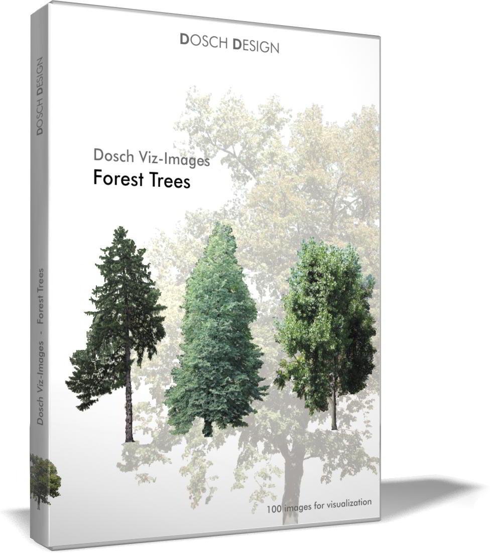 Dosch Viz Images: Forest Trees free download : JPG, PNG, PSD (Photoshop), TIF