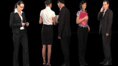 Dosch Viz-Images: Moving People - Business