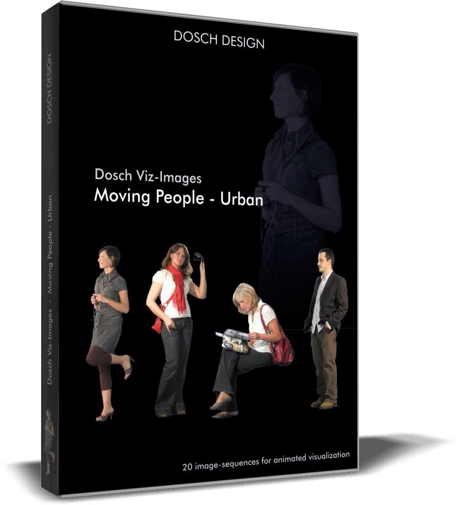 Dosch Viz-Images: Moving People - Urban free download torrent