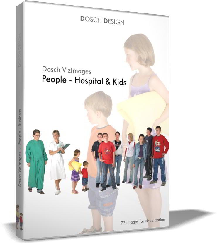 Dosch VizImages: People - Hospital & Kids free download