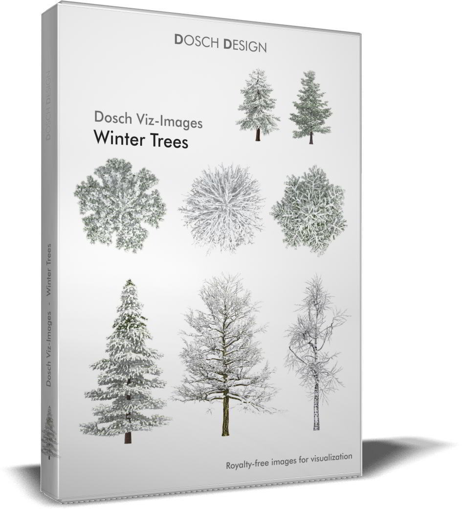 Dosch Viz-Images: Winter Trees free download