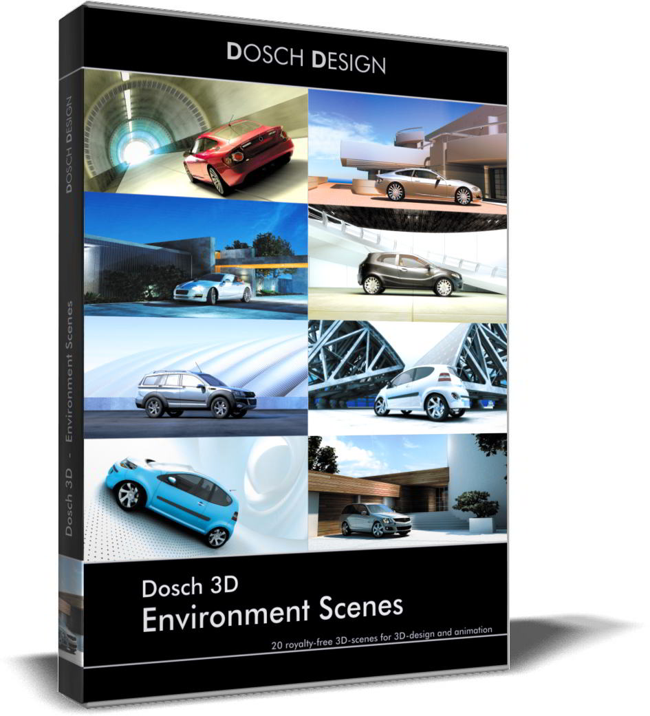 Dosch 3D: Environment Scenes free download