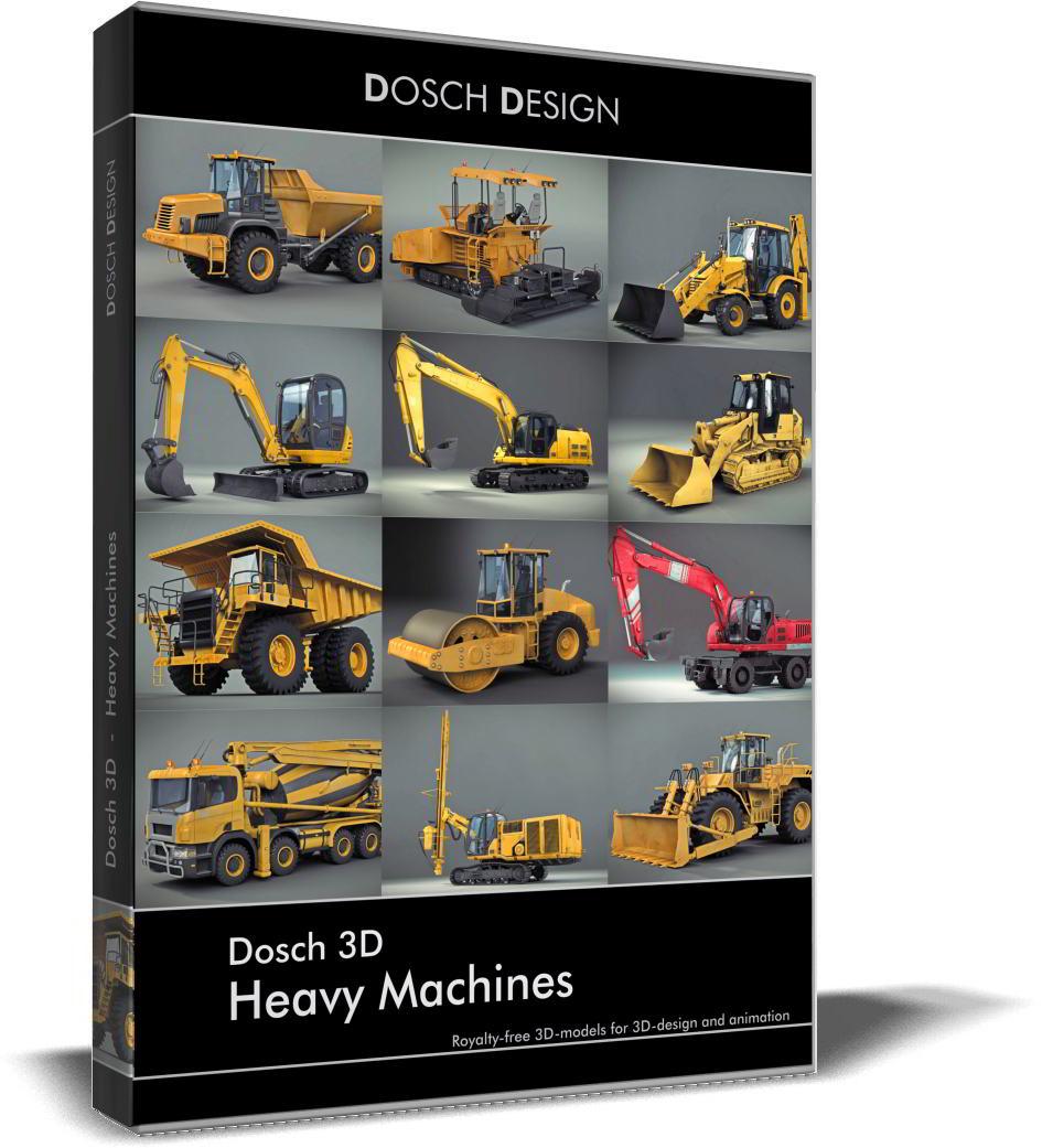 Dosch 3D: Heavy Machines free download